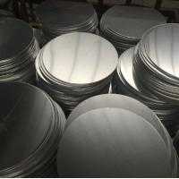 Quality Corrosion Resistant Anodized Aluminum Discs , Aluminum Disk Blanks SGS Approval wholesale