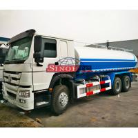 Quality HOWO 6x4 Water Bowser Truck , 10 Wheels 20000 Liters Water Container Truck wholesale