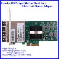 Quality 1G Quad Port Server Network Card, SFP Slot, LC Fiber, 2U & 4U Server NIC Cards wholesale