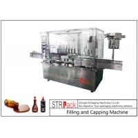 China 8 Head Syrup Automatic Filling And Capping Machine For Pharmaceutical Production Line on sale