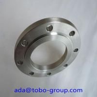 Quality Forged Super Duplex 2507 Stainless Steel Flanges , Inconel718 07Cr19Ni1 SHH304H BL flange wholesale