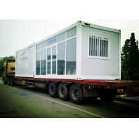 Quality Delicate Comfortable Mobile Container Homes , Customized Design Movable Container House wholesale
