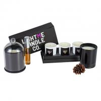 Quality Pillar Shape Diffuser Candle Set / Scented Home Fragrance Gift Set Custom Size wholesale