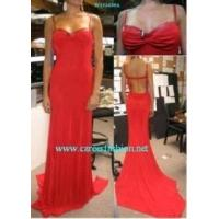 China Ladies' Silk Evening Dress on sale