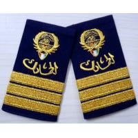 Quality Twill / Cotton / Felt Military Custom Embroidered Patches, Embroidery Badges wholesale