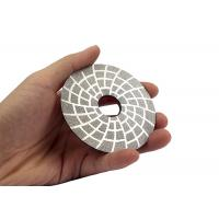 Quality Abrasive Diamond Tool Floor Buffing Machine Pads , Diamond Floor Polishing Pads 3 Inch wholesale
