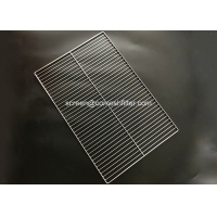 China Barbecue Grill Stainless Steel SGS Wire Mesh Tray on sale