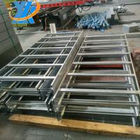 China Stainless Galvanised Steel Cable Tray , Height 25 TO 150MM Channel Cable Tray(width:50mm-1200mm) on sale