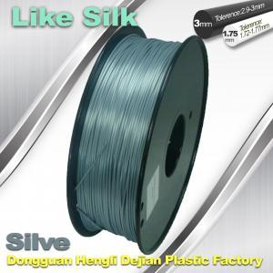 Quality Polymer Composites 3d Printer filament  1.75 / 3.0 mm  ,Imitation Like Silk Filament ,High Gloss wholesale