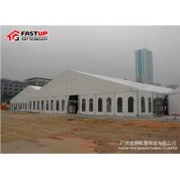 Quality Contemporary Outside Wedding Tents , Flameproof Clear Wedding Tent OEM Available wholesale