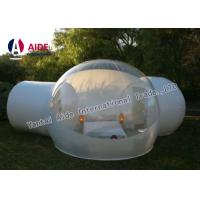 Quality Outdoor Bubble Tent PVC Clear Camping Tent 4M Diameter & 2 Fitting Room wholesale