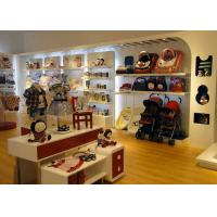Quality Store Display Furniture / Children'S Store Fixtures Decorate With LED Strip Light wholesale
