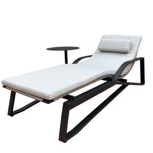 Quality 195cm Length White Plastic Sun Lounger wholesale