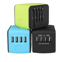Quality Mini Size  Universal Travel Adaptor / International Power Adapter For Business Trip wholesale