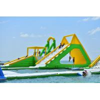 Cheap Giant Inflatable Aqua Park Sports Equipment / Inflatable Water Park Games For Sea for sale