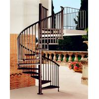 Quality China factory supplier cast iron spiral stair used spiral staircases wholesale
