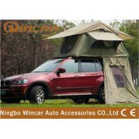 Quality 2 - 3 Person Car Roof Tent Camping 4WD 4 X 4 Rooftop Tents Canvas wholesale
