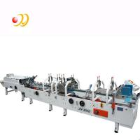 Quality Crash Lock Bottom Folder Gluer Machine With Remote Control Airplanes 0-220m / min wholesale