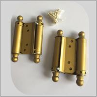 Quality Steel Iron Metal Material Spring Loaded Hinges Double Action Small Size wholesale