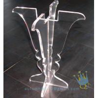 Quality CH (25) clear Acrylic hurricane lantern candle holder wholesale