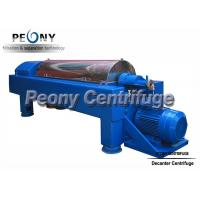 Quality Large Capacity Continuous Centrifugal Oilfield Equipment Decanter Centrifuges wholesale