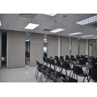 Quality Plywood Meeting Room Hanging Sliding Door Banquet Hall Partition Wall wholesale