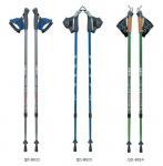 Quality carbon fiber  Nordic walking poles,  hiking poles,aluminum walking poels, Hiking Trekking Poles wholesale