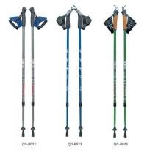 Quality Nordic Walking Stick 7075 Trekking Poles Outdoor 65-135cm Telescopic Climbing Equipment Aluminum  Hiking Trekking Poles wholesale