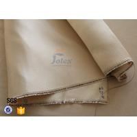 Cheap 800℃ 600g Brown High Silica Cloth Fiberglass Fabric For Fire Blanket for sale