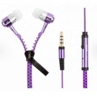 Quality zipper Customized Promotional Gifts , LED Light Up Headphones Customize Color wholesale