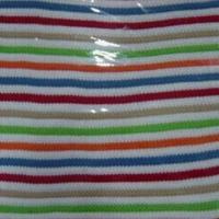 Quality Baby Knitted Rib Cotton Blanket, 120x140cm wholesale