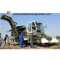 Quality Self - Propelled 132kw Tomato Harvester , Reciprocating Cutting with Seedling Teeth wholesale