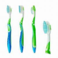 Quality Toothbrushes for Adults, Extra Soft Rounded Bristles with an Oval Head wholesale