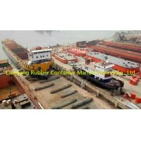Buy cheap 1.5m*18m 1.8m*20m ship launching marine airbags all size can be custom made black color product
