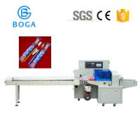 China Disposable Toothpaste Toothbrush Packing Machine Full Stainless 2.4KW on sale