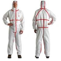 Buy cheap Anti Virus Type 3456 Disposable Paint Suit Anti Bacterial Virus Effectively from wholesalers