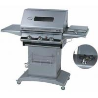 3 Burners Gas Grill with Glass Window