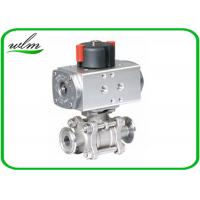 Cheap Complete Encapsulation Sanitary Ball Valves Customized For Special Environments for sale