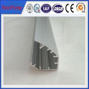 China 6061/6063 aluminium profile cover strip/aluminium profile for led strips on sale