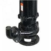 Quality OEM Cast Iron Submersible Pump , Home Submersible Water Pump Black Durable wholesale