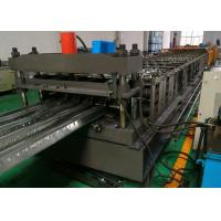 Quality Corrugated Floor Deck Roll Forming Machine , 0.8 - 1.5mm Thick Metal Roll Former wholesale