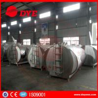 Quality DYE Stainless Steel Milk Transportation Tank Direct Expansion Refrigeration wholesale