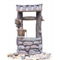 Quality Customized Design Outdoor Tiered Water Fountains In Chinese Well Shape  wholesale