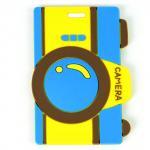 Quality 2014 Custom blue 10.5*5.5*0.5 cm Baggage Tag wholesale
