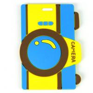 China 2014 Custom blue 10.5*5.5*0.5 cm Baggage Tag on sale