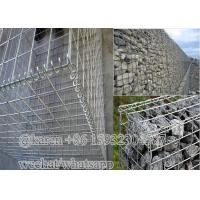 China Wire diameter3.0mm 4.0mm Welded Gabion Boxes For Stone Cage/welded Gabion Basket on sale