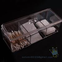 Quality acrylic makeup organizer tray wholesale