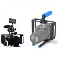 Quality New DSLR camera cage RIGS for Canon Dslr 5D MARK II III 7D with 15mm guide rail wholesale