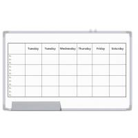 Quality Office Magnetic Planning Board , Monthly Wall Planner Whiteboard wholesale