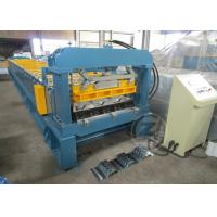 Quality 1200mm Floor Metal Deck Roll Forming Machine With Anti - Rust Roller 480V /60HZ wholesale
